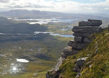 Inverpolly from Suilven